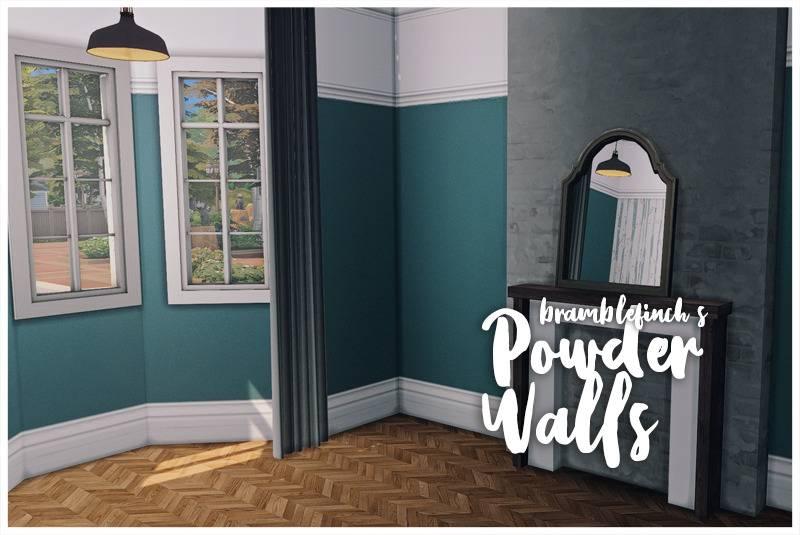 Настенное покрытие - painted walls