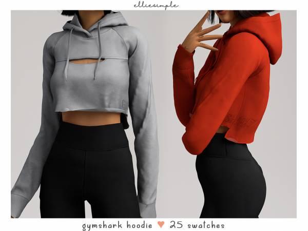 Женское худи - gymshark hoodie