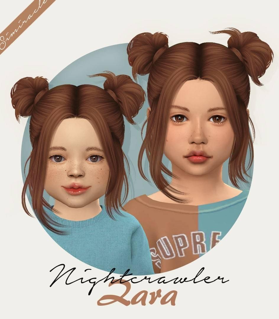 Прическа для девочек и малышек - Nightcrawler Zara