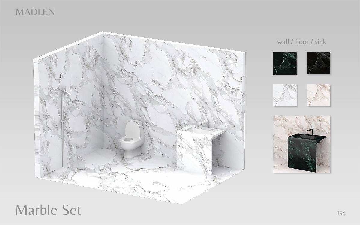 Сет для ванной комнаты - Marble Set