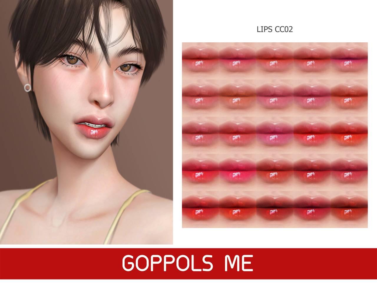 Блеск для губ - Lips CC02