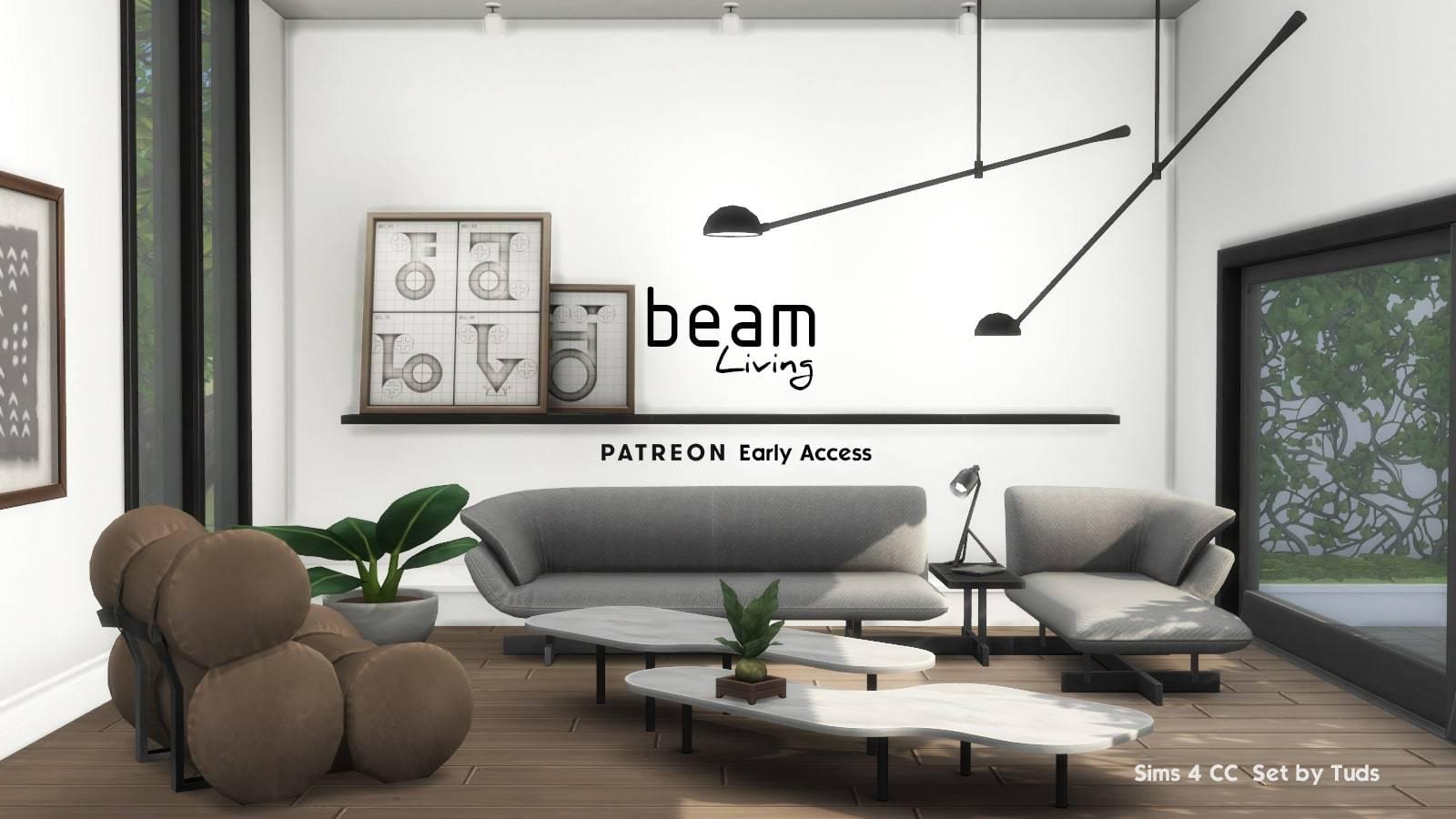 Гостиная - Beam Living Part 01