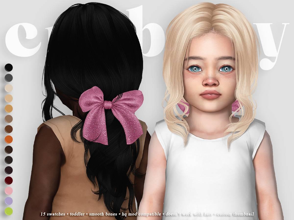 Прическа для малышек - snow corridor hair