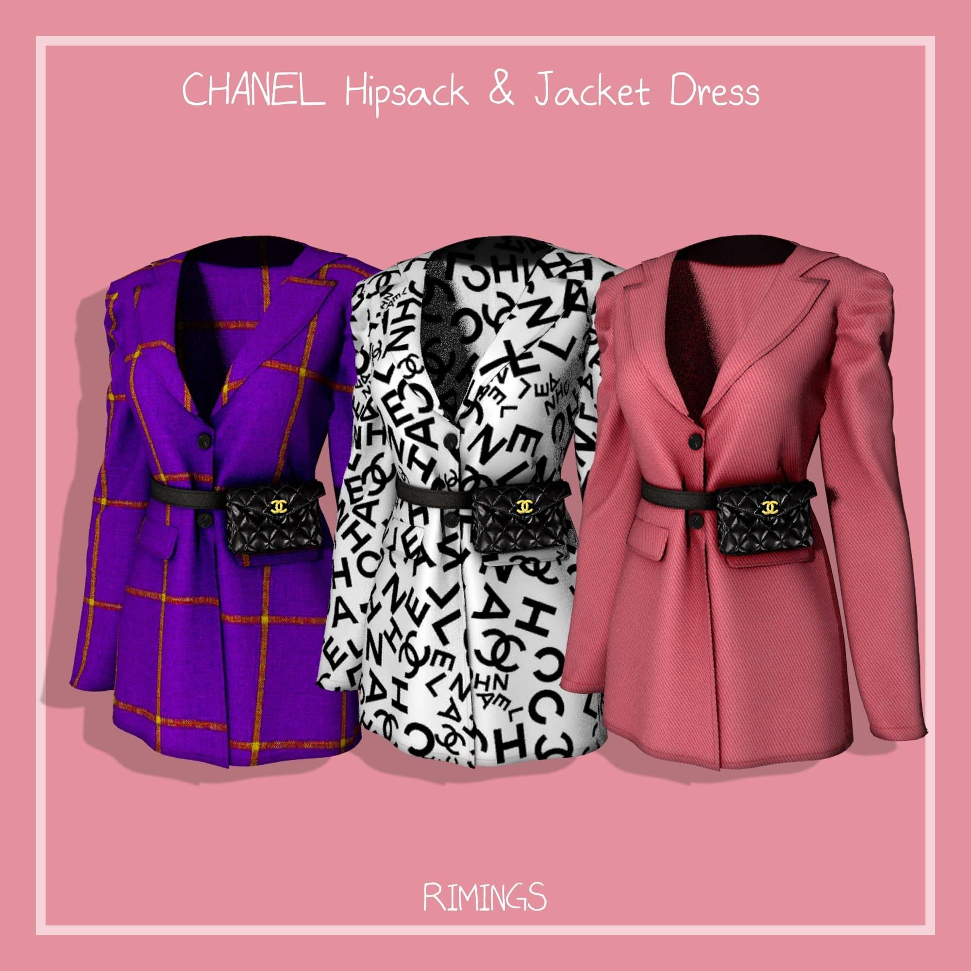 Женский пиджак - CHANEL Hipsack and Jacket Dress