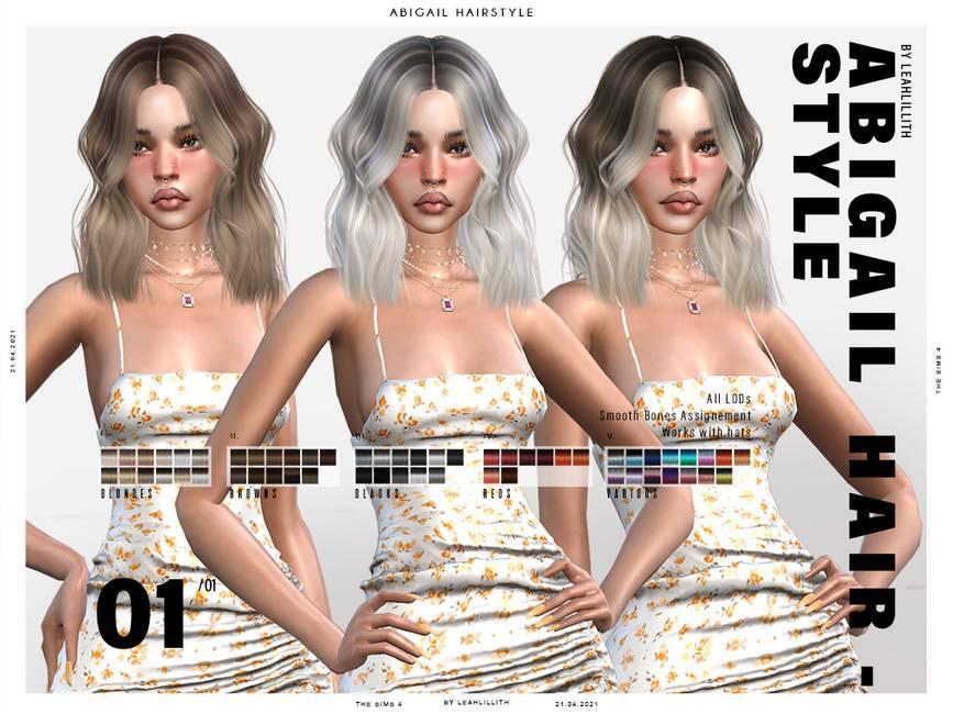 Женская прическа - Abigail Hairstyle