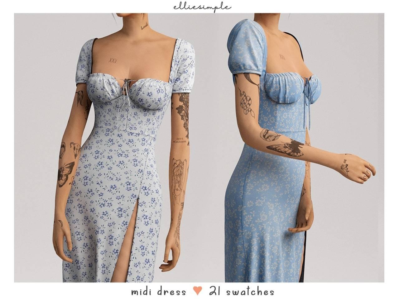 Платье - midi dress