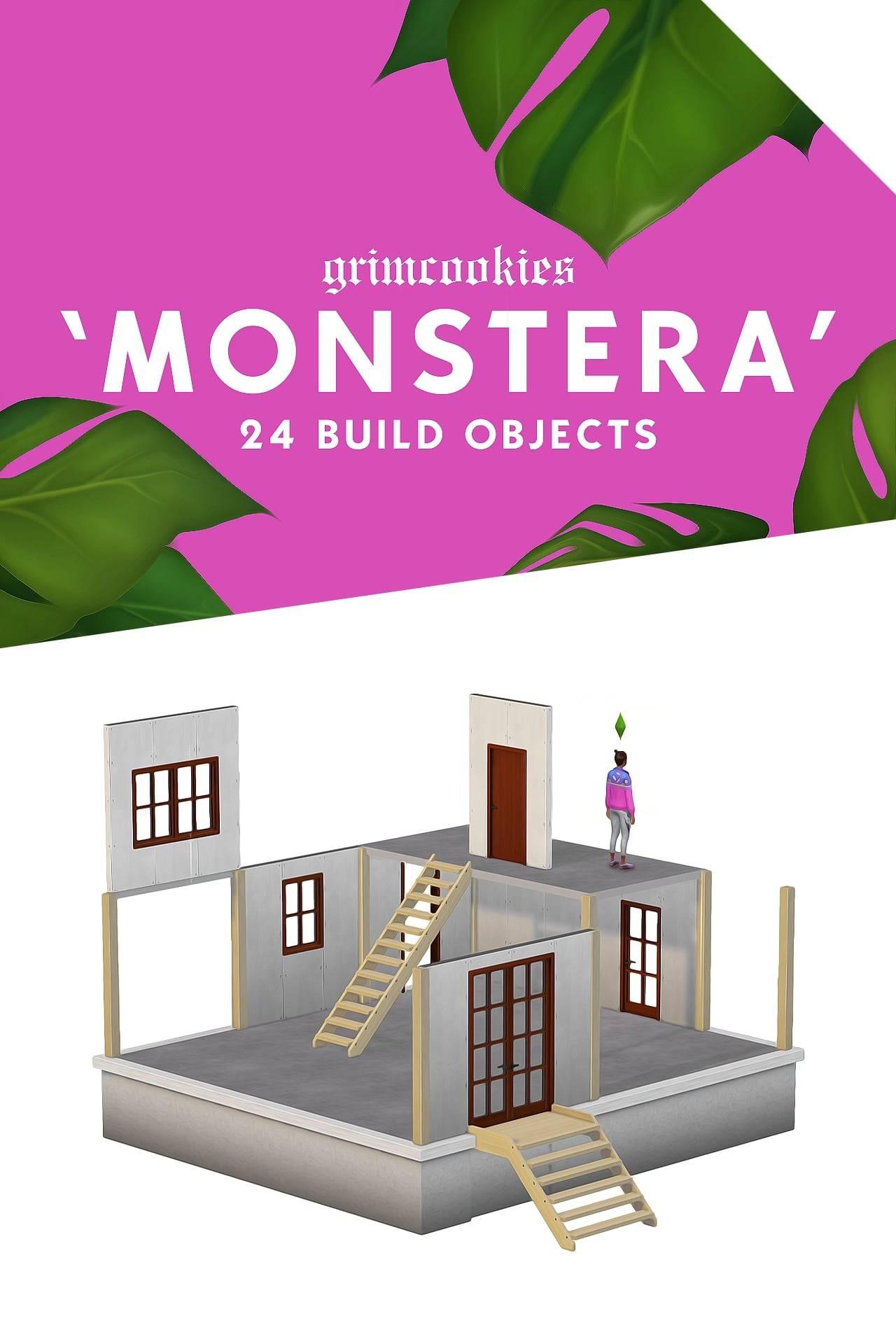 Строительный набор - MONSTERA