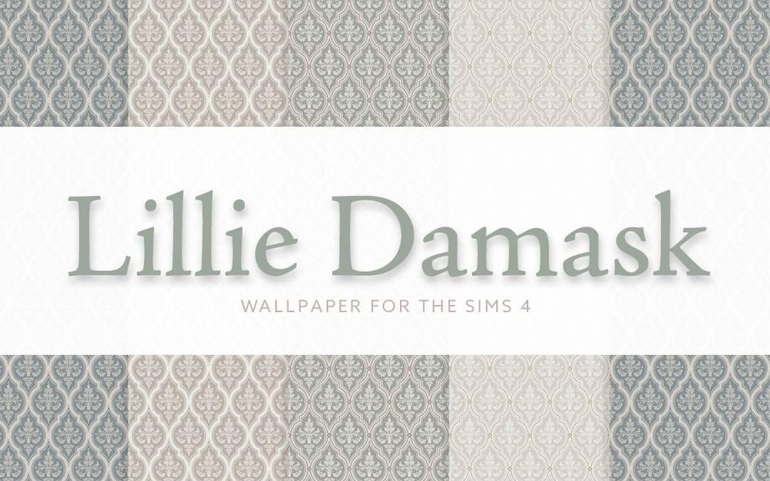 Обои - Lillie Damask Wallpaper