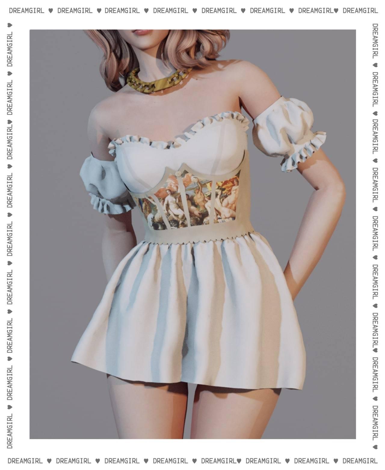 Платье - venus dress V1