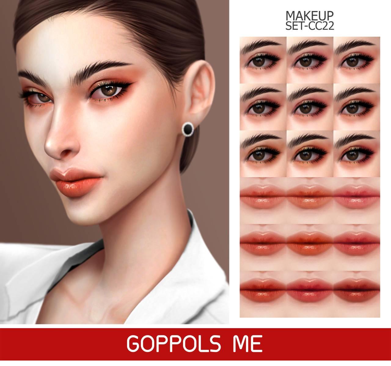 Набор косметики - MAKEUP SET CC22