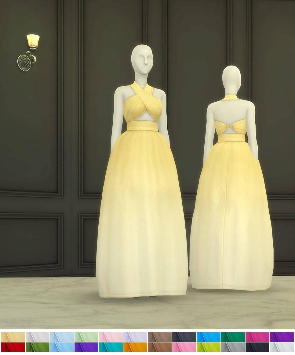 Платье - Bloom Gown1