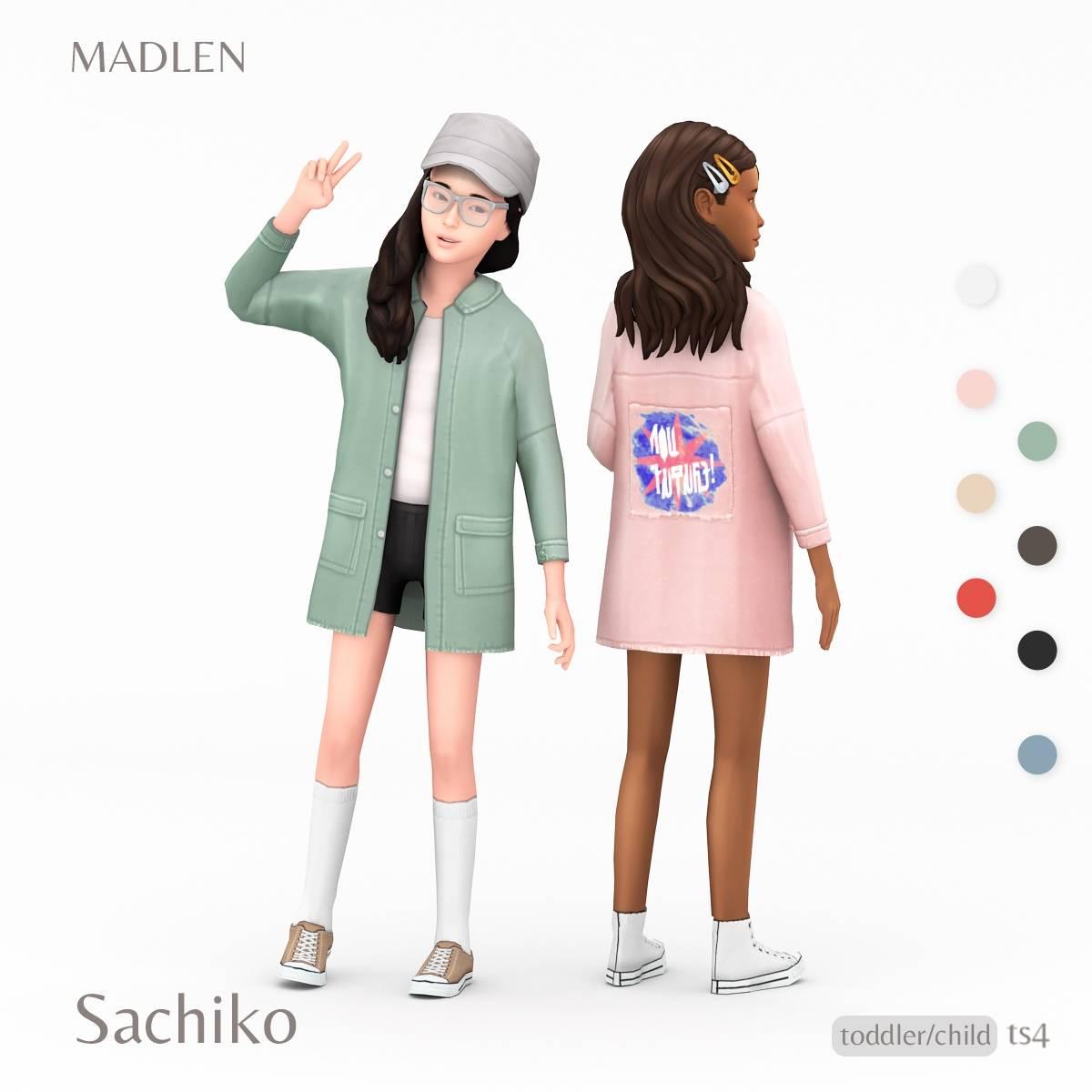Комплект одежды для детей и тоддлеров - Sachiko Outfit