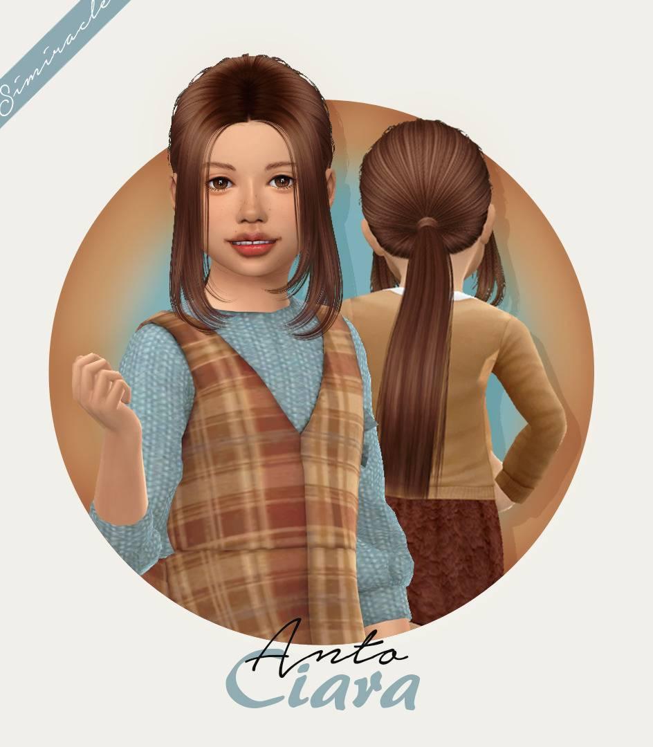 Прическа для девочек и малышек - Anto Ciara