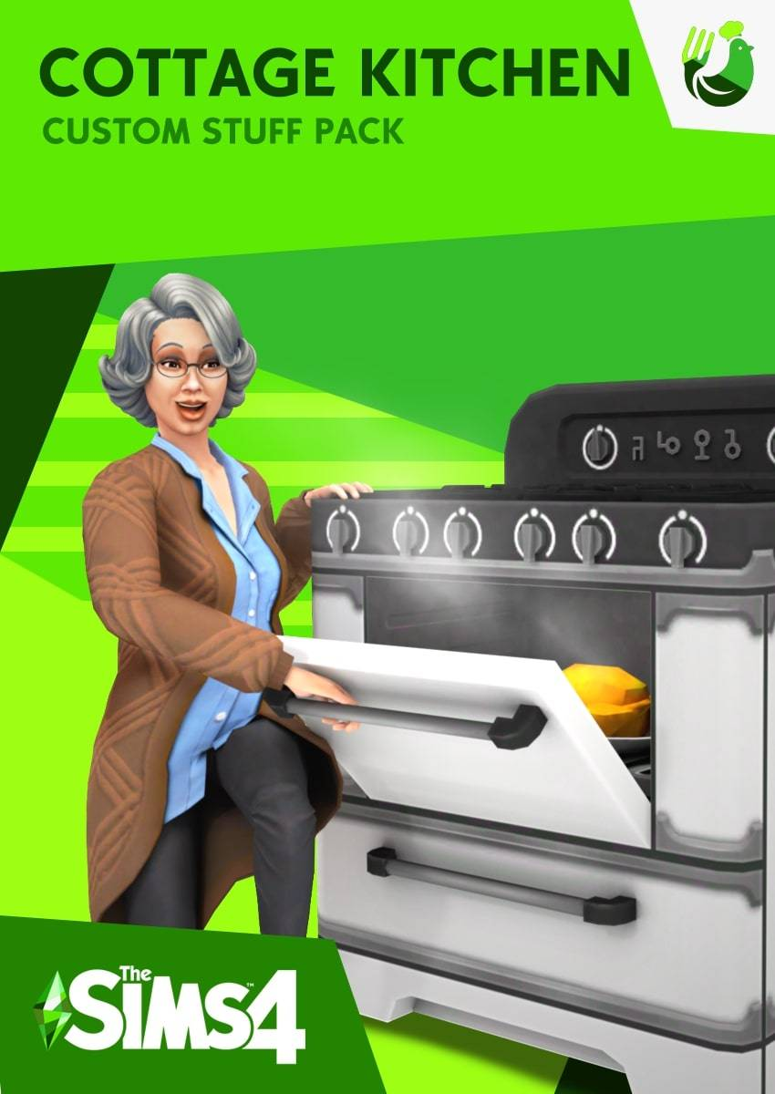 Каталог - The Sims 4 Cottage Kitchen CC Stuff Pacck