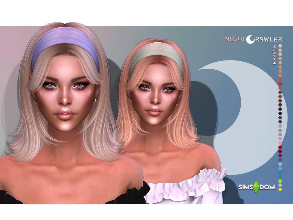 Женская прическа - HARPER HAIR