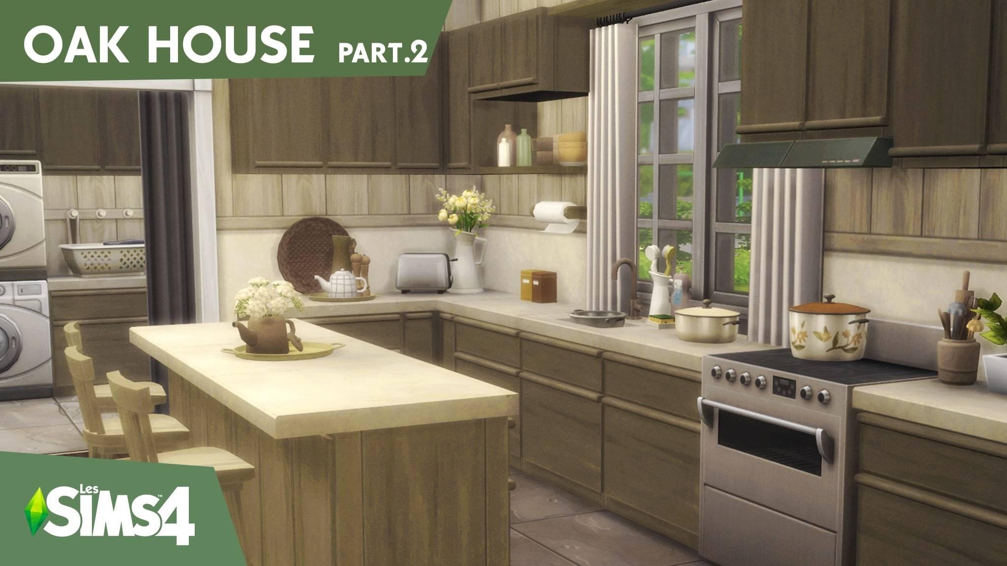 Кухня - OAK HOUSE part.2