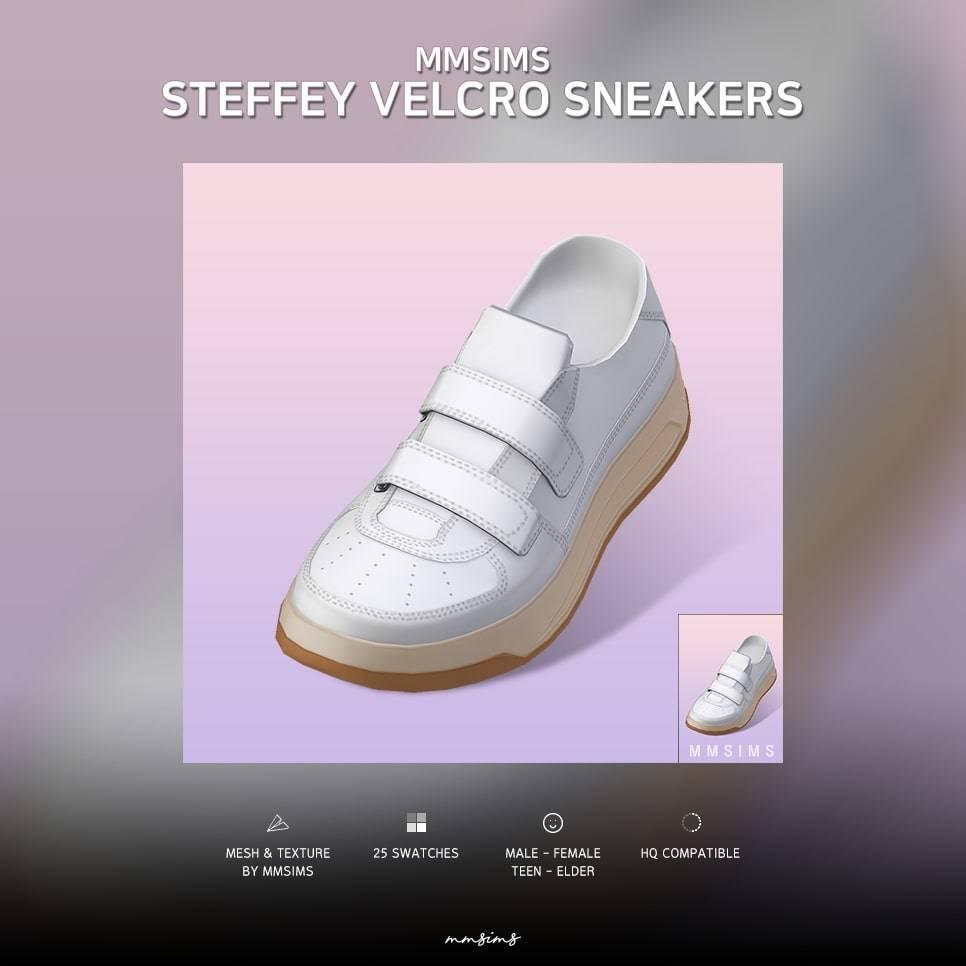 Сникеры - Steffey Velcro Sneakers
