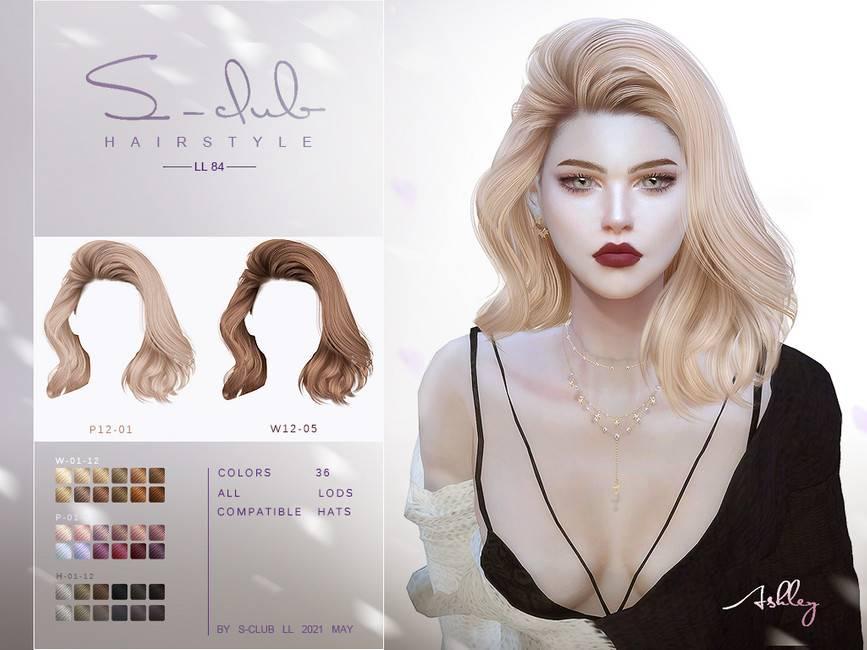 Женская прическа - hair n84