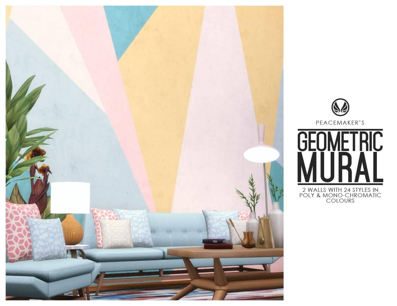 Краска для стен - Geometric Murals