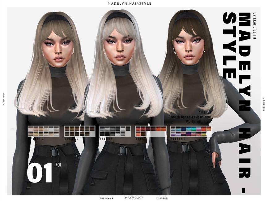 Женская прическа - Madelyn Hairstyle
