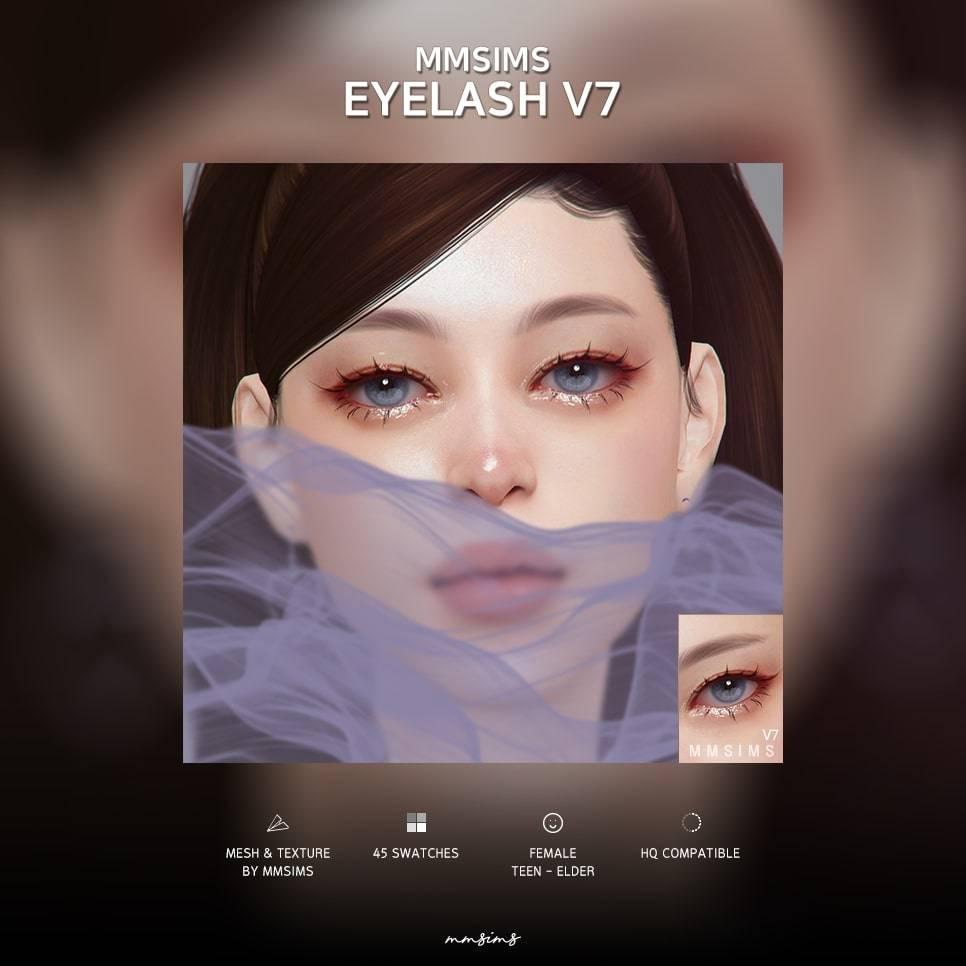 Ресницы - Eyelash v7