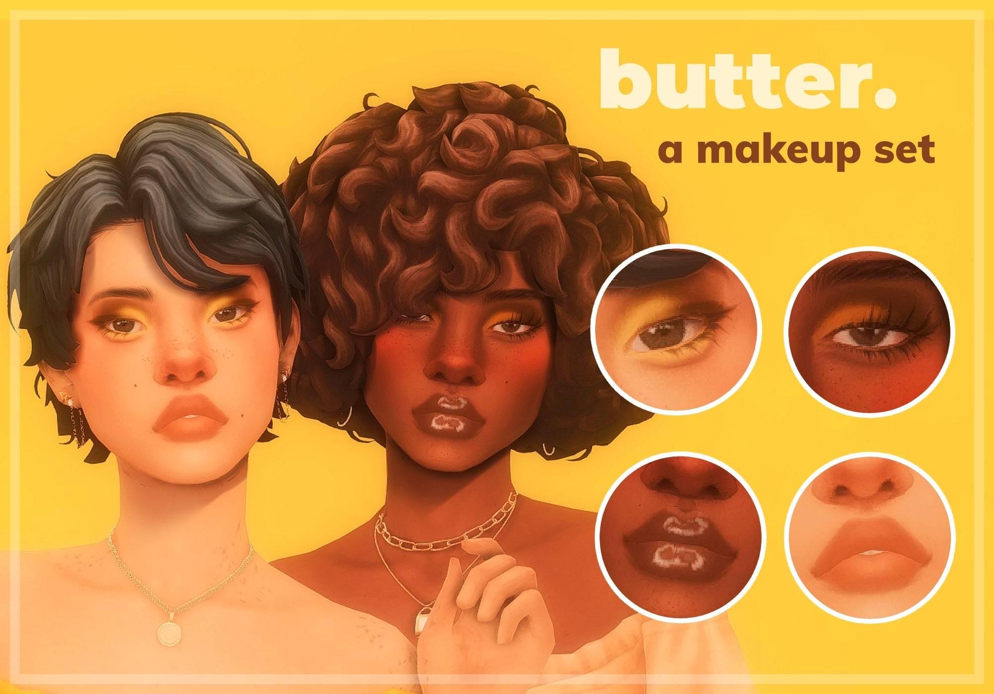 Набор косметики - Butter Makeup Set