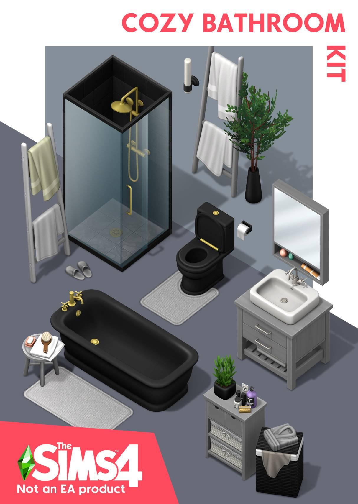 Комплект для ванной комнаты - Cozy Bathroom Kit