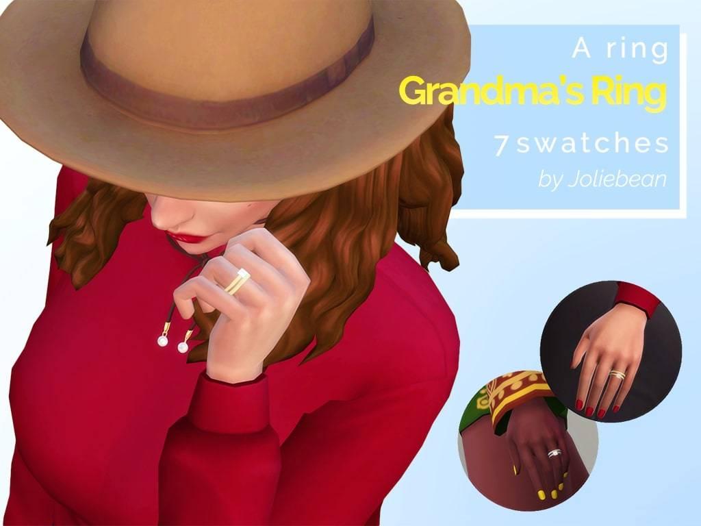 Кольцо - Grandmas Ring