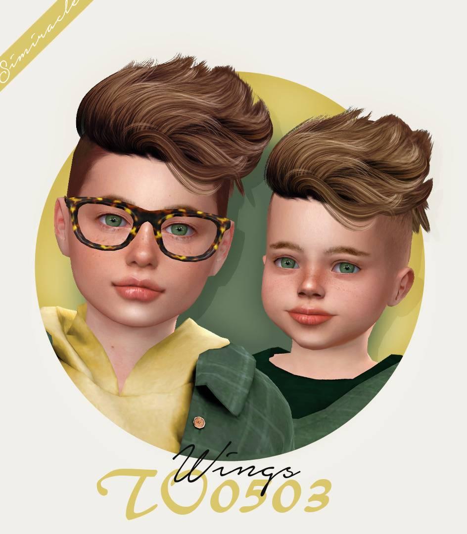 Прическа для мальчиков и малышей - Wings TO0503