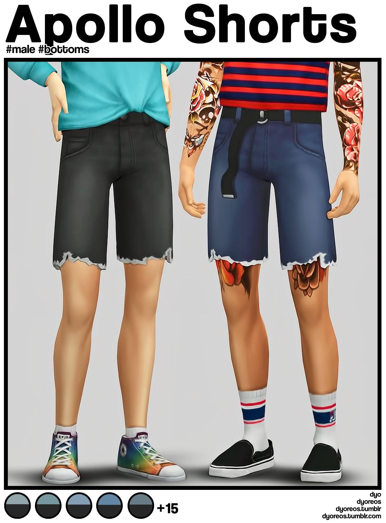 Мужские шорты - Apollo Shorts