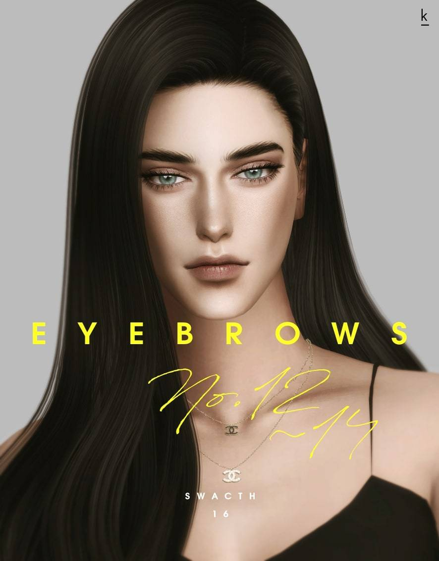 Набор бровей - k eyebrow n12, 13, 14