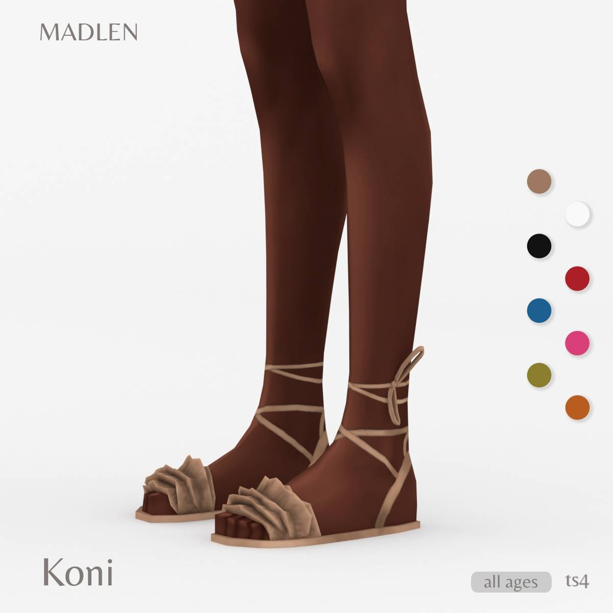Сандалии - Koni Sandals