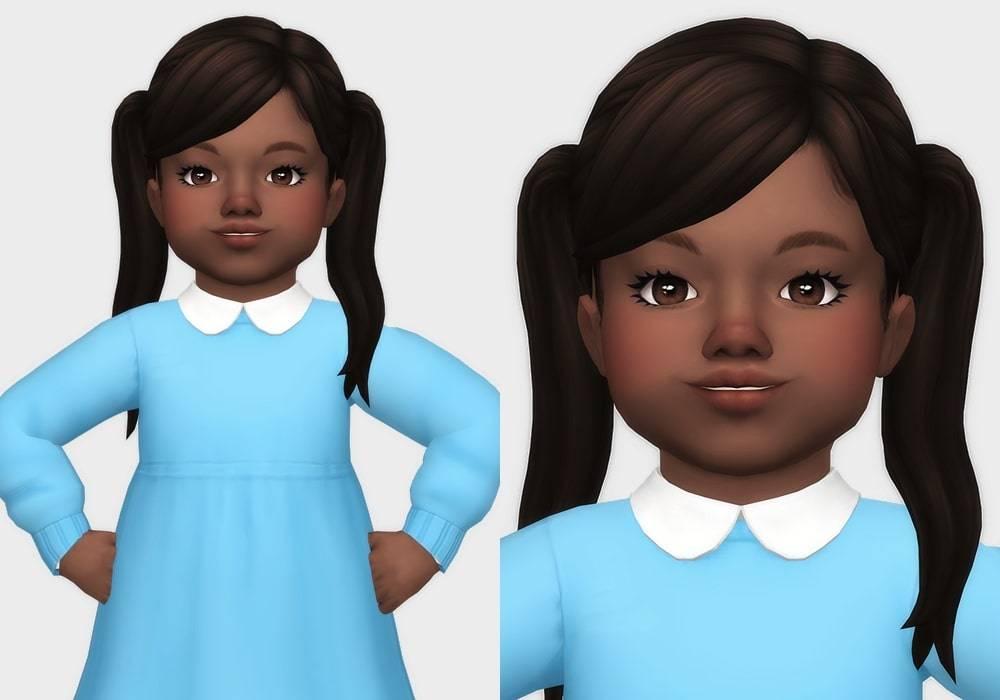 Прическа для малышек - heejin hair
