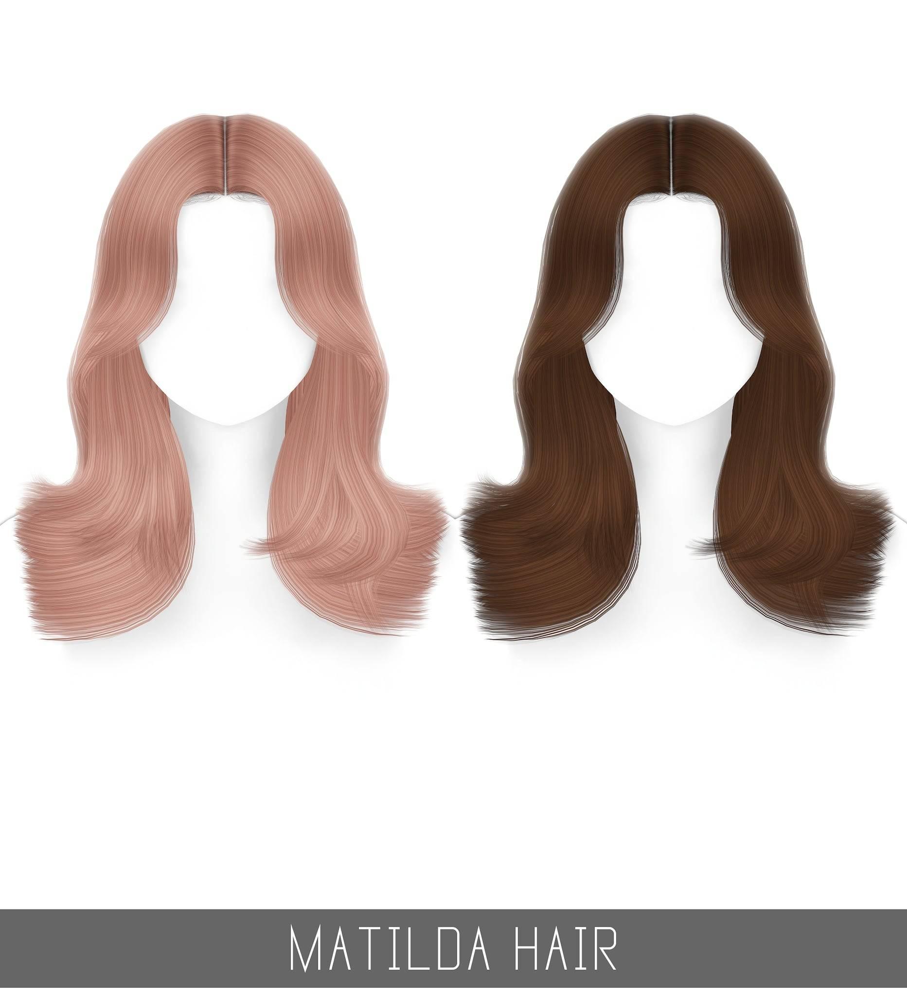 Прическа для женщин, девочек и малышек - MATILDA HAIR