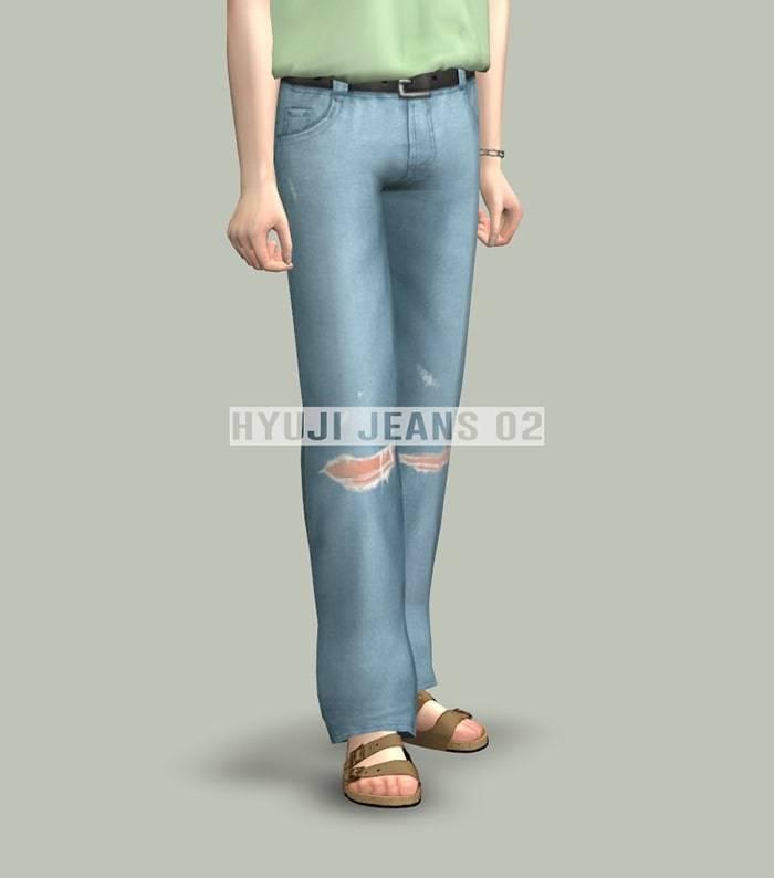 Мужские джинсы - jeans 02 (male)