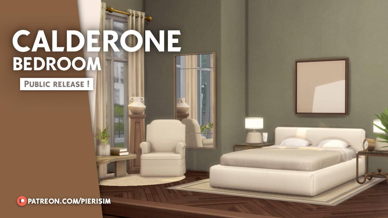 Спальня - CALDERONE bedroom