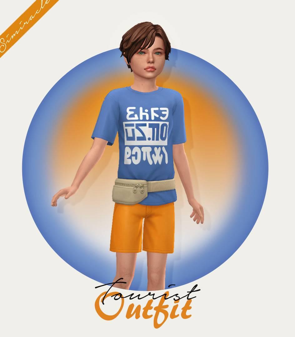 Комплект для мальчика - Tourist Outfit