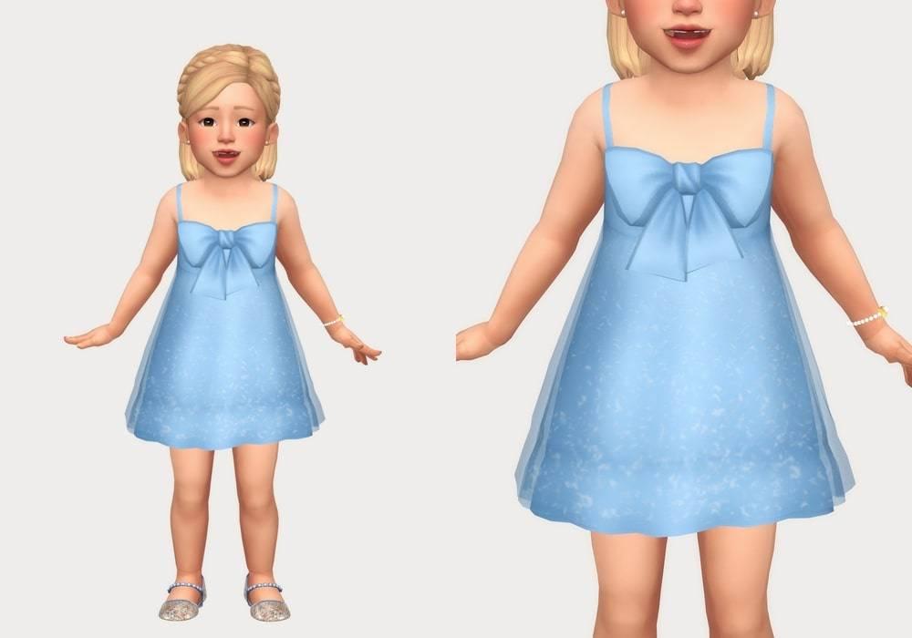 Платье - tulle bow dress