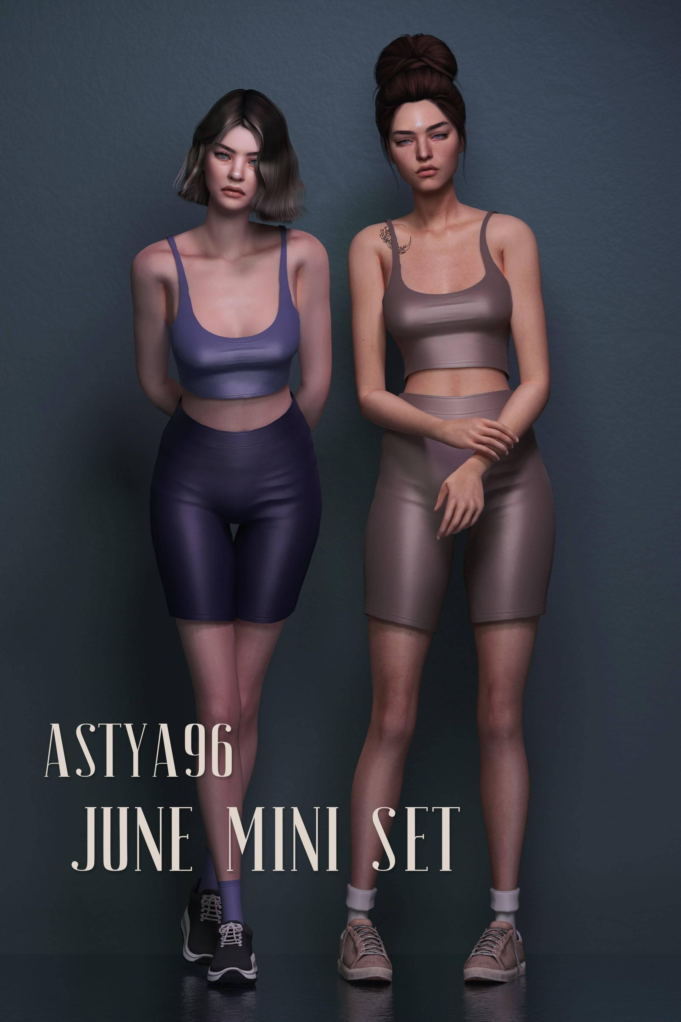 Женский спортивный комплект - June Mini Set
