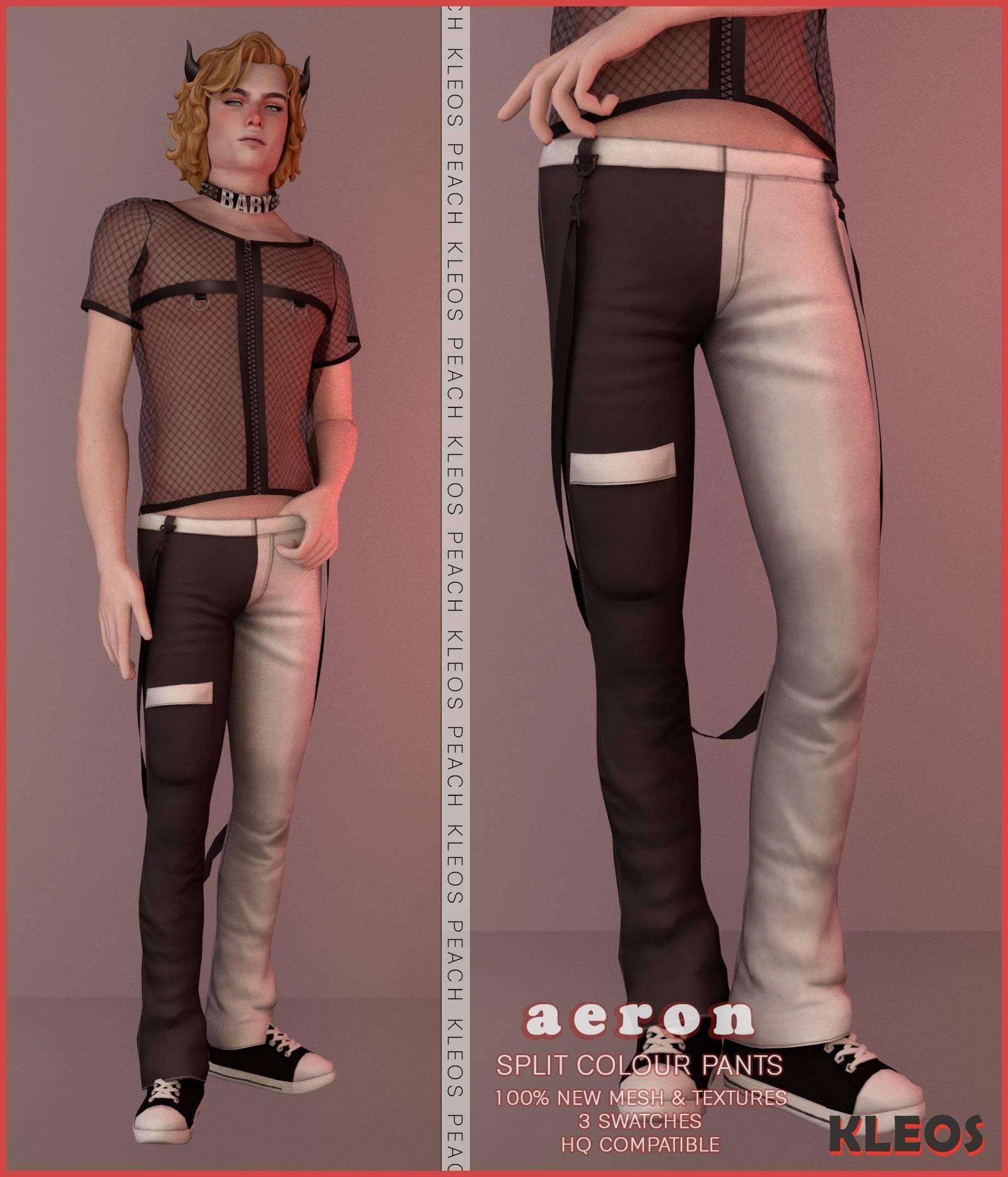 Мужские штаны - Aeron Split Colour Pants