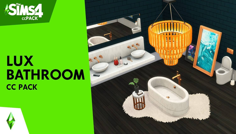 Каталог - Lux Bathroom CC Pack