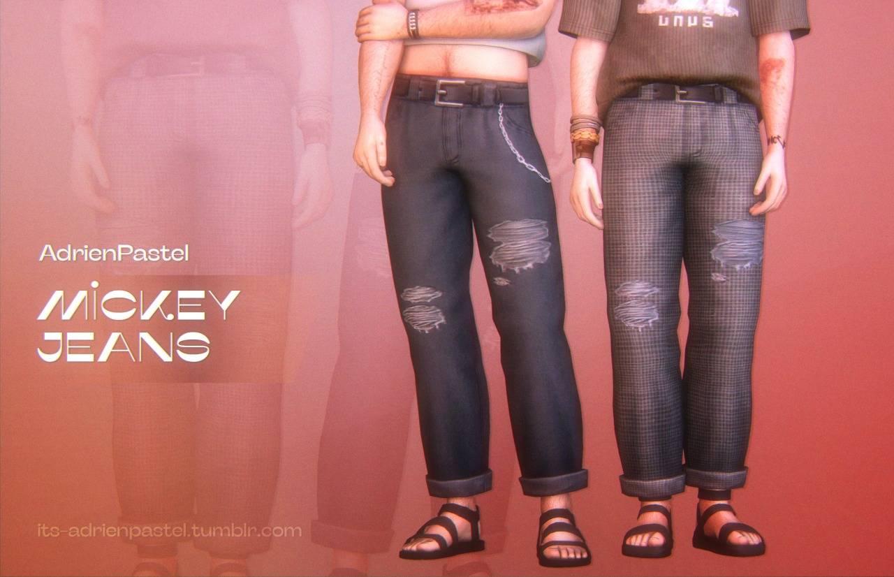 Мужские джинсы - mickey jeans