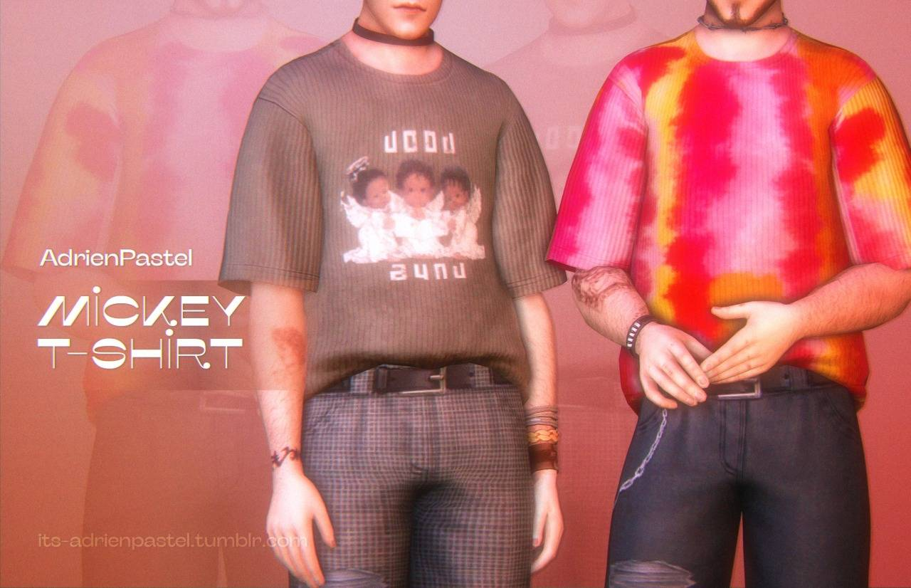 Мужская футболка - mickey t-shirt