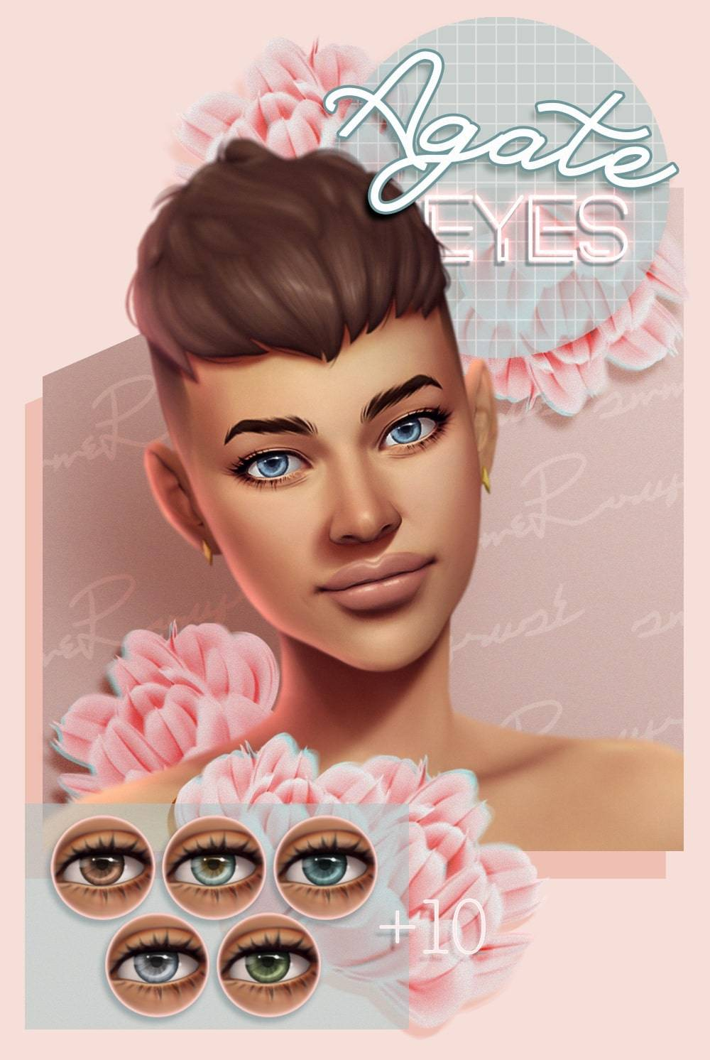 Линзы - Agate eyes