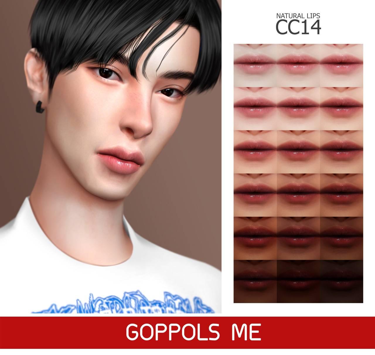 Блеск для губ - Natural Lips CC14
