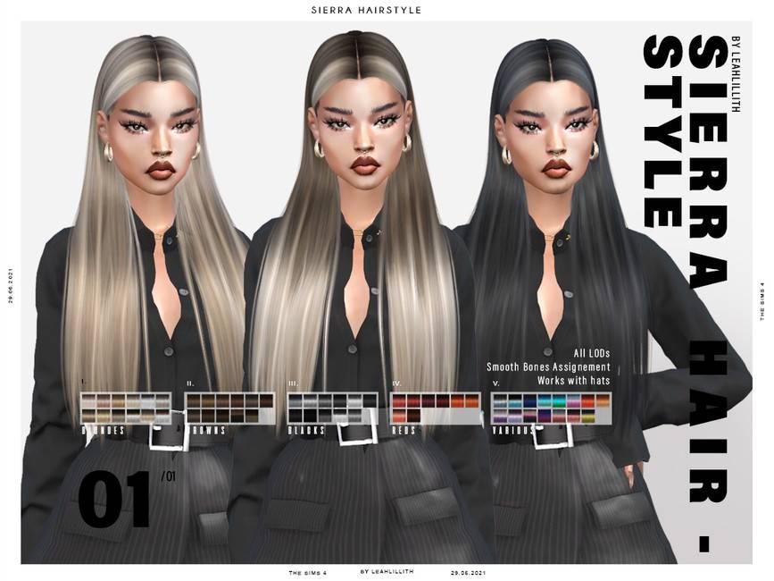 Женская прическа - Sierra Hairstyle