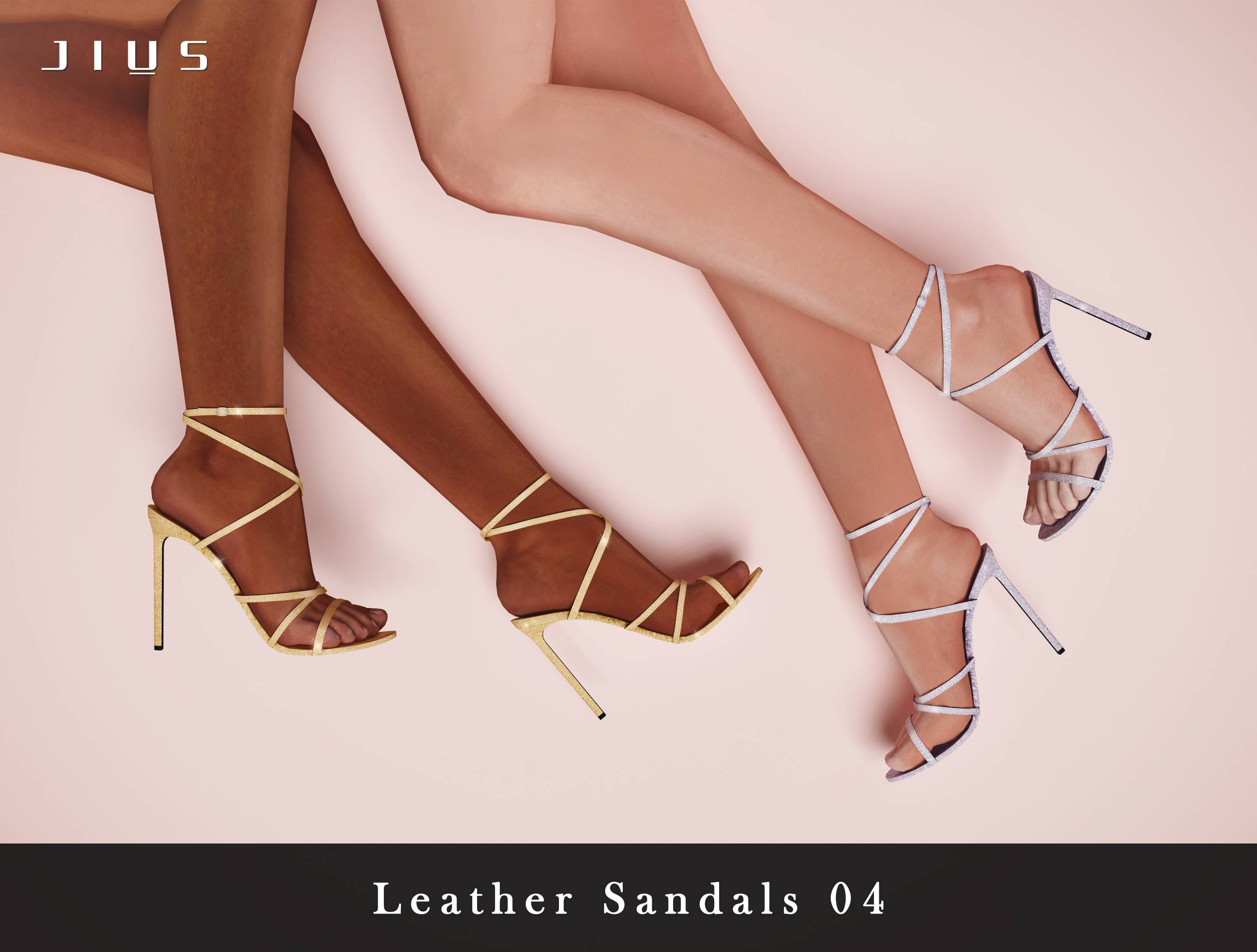 Босоножки - Leather Sandals 04