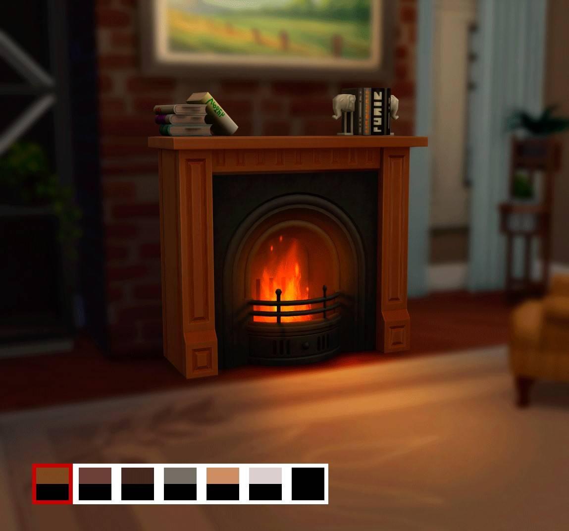 Камин - Fireplace