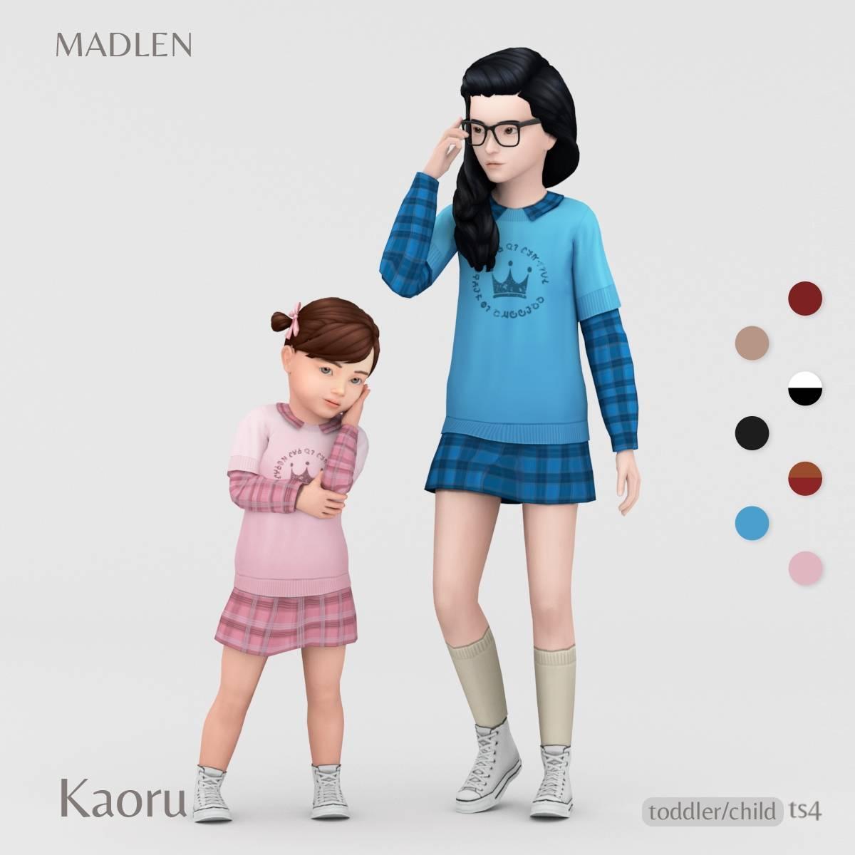 Наряд для девочек и малышек - Kaoru Outfit