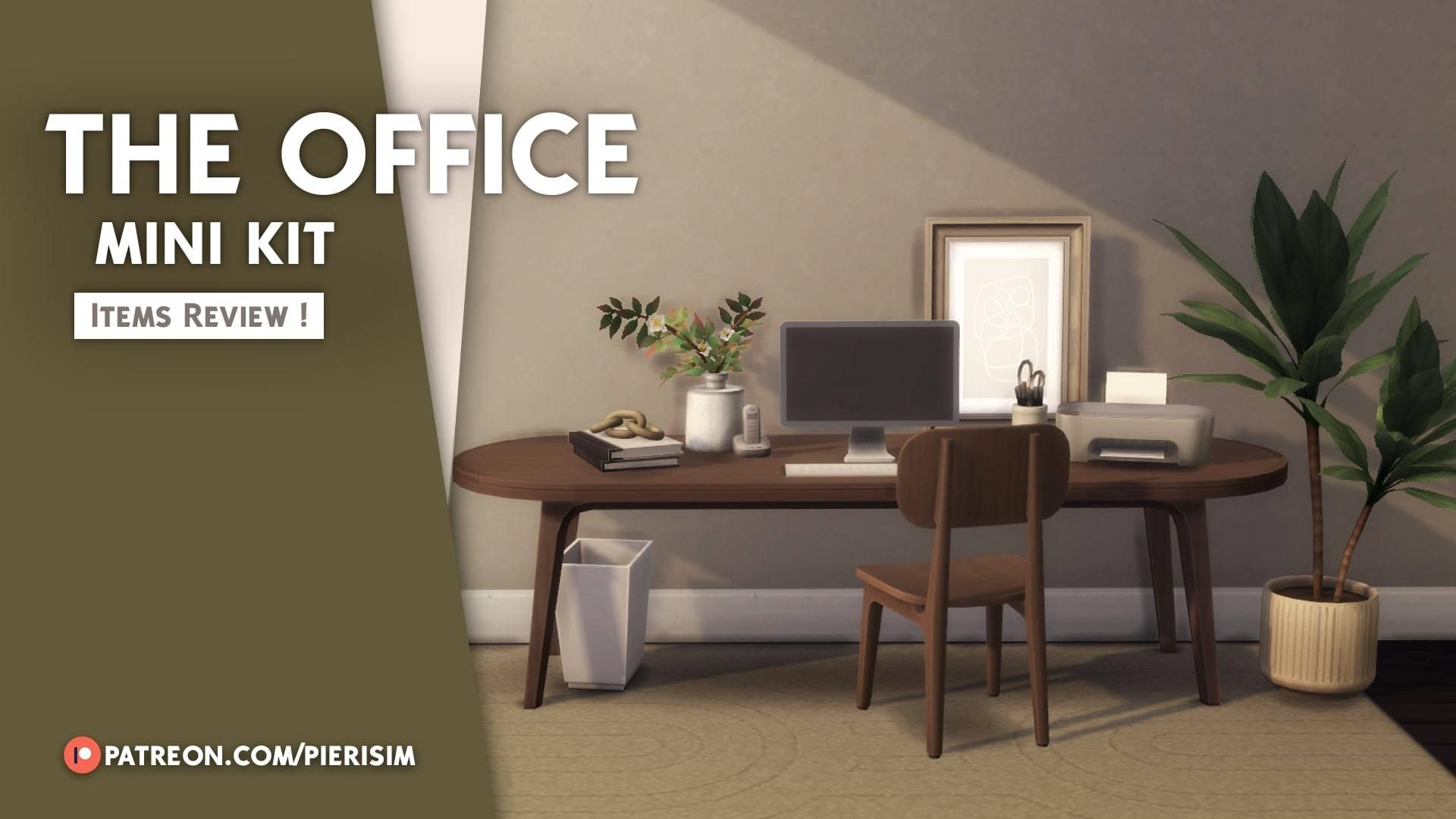 Сет для рабочего кабинета - THE OFFICE